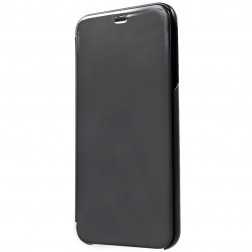 Plastikinis atverčiamas dėklas - juodas (Galaxy J4+)