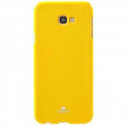 """""""Mercury"""" dėklas - geltonas (Galaxy J4+)"""