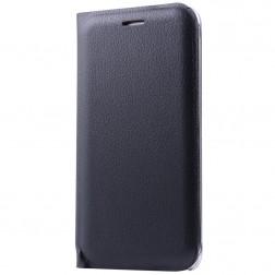 """""""Smart Wallet"""" atverčiamas dėklas - juodas (Galaxy J5 2016)"""