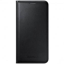 """""""Samsung"""" Flip Wallet Cover atverčiamas dėklas - juodas (Galaxy J5 2015)"""