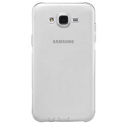 Ploniausias TPU skaidrus dėklas - pilkas (Galaxy J5 2015)
