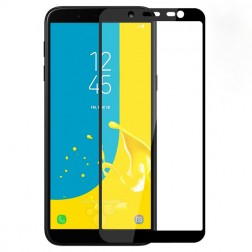 """3D Rewan"" Tempered Glass apsauginis ekrano stiklas 0.26 mm - juodas (Galaxy J6 2018)"