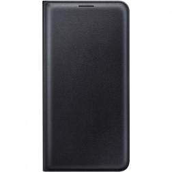 """""""Samsung"""" Flip Wallet Cover atverčiamas dėklas - juodas (Galaxy J7 2016)"""