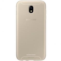 """""""Samsung"""" Jelly Cover TPU dėklas - auksinis (Galaxy J7 2017)"""