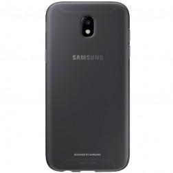 """""""Samsung"""" Jelly Cover TPU dėklas - juodas (Galaxy J7 2017)"""