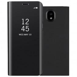 Plastikinis atverčiamas dėklas - juodas (Galaxy J7 2017)