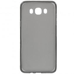 Kieto silikono (TPU) dėklas - pilkas (Galaxy J7 2016)