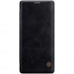 """""""Nillkin"""" Qin atverčiamas dėklas - juodas (Galaxy Note 9)"""