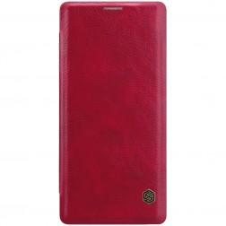 """""""Nillkin"""" Qin atverčiamas dėklas - raudonas (Galaxy Note 9)"""
