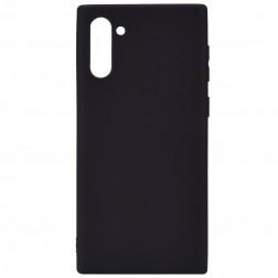 Ploniausias TPU dėklas - juodas (Galaxy Note 10)