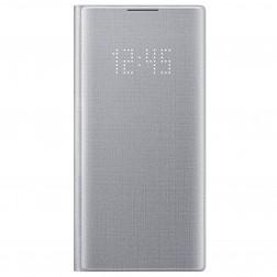 """""""Samsung"""" Led View Cover atverčiamas dėklas - sidabrinis (Galaxy Note 10)"""