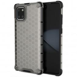 """""""Honeycomb"""" sustiprintos apsaugos dėklas - pilkas (Galaxy Note10 Lite)"""