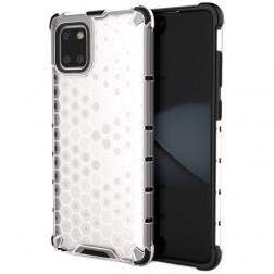 """""""Honeycomb"""" sustiprintos apsaugos dėklas - skaidrus (Galaxy Note10 Lite)"""