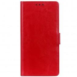Atverčiamas dėklas - raudonas (Galaxy Note10 Lite)
