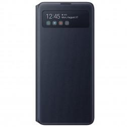 """""""Samsung"""" S View Wallet Cover atverčiamas dėklas - juodas (Galaxy Note10 Lite)"""