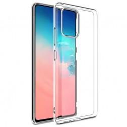 Kieto silikono (TPU) dėklas - skaidrus (Galaxy Note10 Lite)