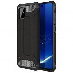 Sustiprintos apsaugos dėklas - juodas (Galaxy Note10 Lite)