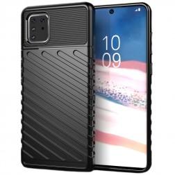 """""""Thunder"""" sustiprintos apsaugos dėklas - juodas (Galaxy Note10 Lite)"""