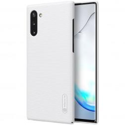 """Nillkin"" Frosted Shield dėklas - baltas (Galaxy Note 10)"
