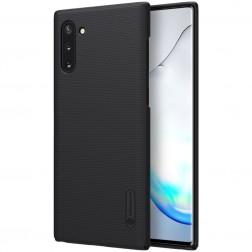 """Nillkin"" Frosted Shield dėklas - juodas (Galaxy Note 10)"