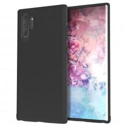"""""""Lenuo"""" kieto silikono (TPU) dėklas - juodas (Galaxy Note 10+)"""