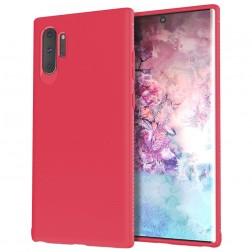 """""""Lenuo"""" kieto silikono (TPU) dėklas - raudonas (Galaxy Note 10+)"""