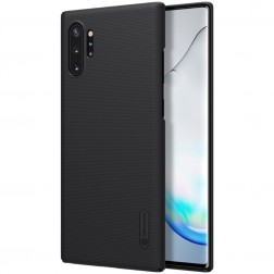 """Nillkin"" Frosted Shield dėklas - juodas (Galaxy Note 10+)"
