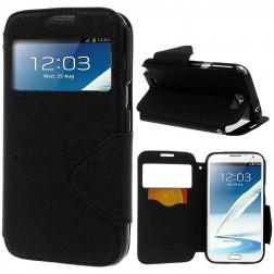 """""""Roar"""" atverčiamas dėklas - juodas (Galaxy Note 2)"""