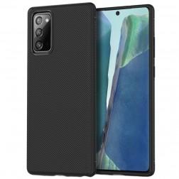 """""""Jazz"""" kieto silikono (TPU) dėklas - juodas (Galaxy Note 20)"""