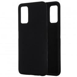 """""""Shell"""" kieto silikono (TPU) dėklas - juodas (Galaxy Note 20)"""