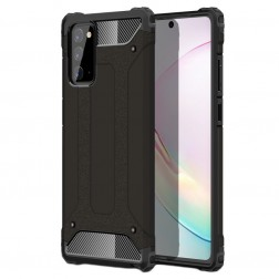 Sustiprintos apsaugos dėklas - juodas (Galaxy Note 20)