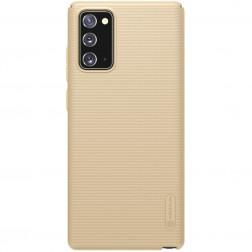 """Nillkin"" Frosted Shield dėklas - auksinis (Galaxy Note 20)"