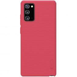 """Nillkin"" Frosted Shield dėklas - raudonas (Galaxy Note 20)"