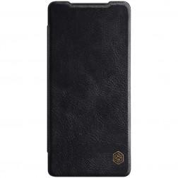 """""""Nillkin"""" Qin atverčiamas dėklas - juodas (Galaxy Note 20)"""