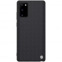 """""""Nillkin"""" Textured dėklas - juodas (Galaxy Note 20)"""