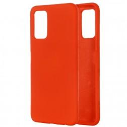 """""""Shell"""" kieto silikono (TPU) dėklas - raudonas (Galaxy Note 20)"""