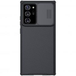 """Nillkin"" CamShield dėklas - juodas (Galaxy Note 20 Ultra)"