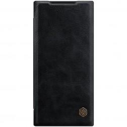 """""""Nillkin"""" Qin atverčiamas dėklas - juodas (Galaxy Note 20 Ultra)"""