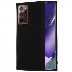 """""""Shell"""" kieto silikono (TPU) dėklas - juodas (Galaxy Note 20 Ultra)"""
