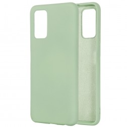 """""""Shell"""" kieto silikono (TPU) dėklas - žalias (Galaxy Note 20)"""