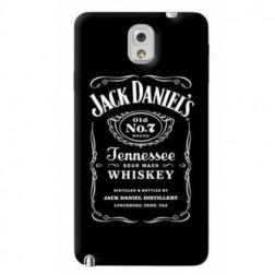 """""""Jack Daniels"""" plastikinis dėklas - juodas (Galaxy Note 3)"""