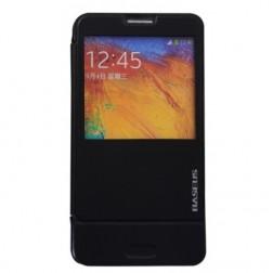 """""""Baseus"""" Folio atverčiamas dėklas - juodas (Galaxy Note 3)"""