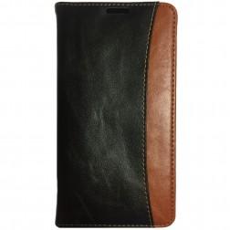 """""""Luxury"""" atverčiamas dėklas - juodas (Galaxy Note 3)"""
