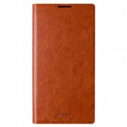 """""""Mofi"""" Rui atverčiamas dėklas - rudas (Galaxy Note 3 Neo)"""