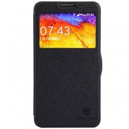 """""""Nillkin"""" Fresh atverčiamas dėklas - juodas (Galaxy Note 3 Neo)"""