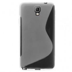 """""""S-Line"""" kieto silikono (TPU) dėklas - baltas (Galaxy Note 3 Neo)"""