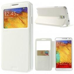 """""""Roar"""" Noble atverčiamas dėklas - baltas (Galaxy Note 3)"""