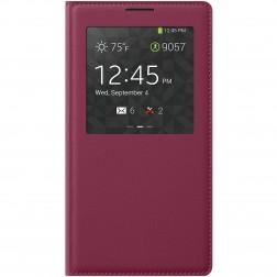 """""""View Window"""" atverčiamas dėklas - tamsiai rožinis (Galaxy Note 3)"""