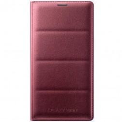 """""""Samsung"""" Flip Wallet atverčiamas dėklas - bordo (Galaxy Note 4)"""