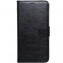 """""""Litchi"""" atverčiamas dėklas - juodas (Galaxy Note 4)"""